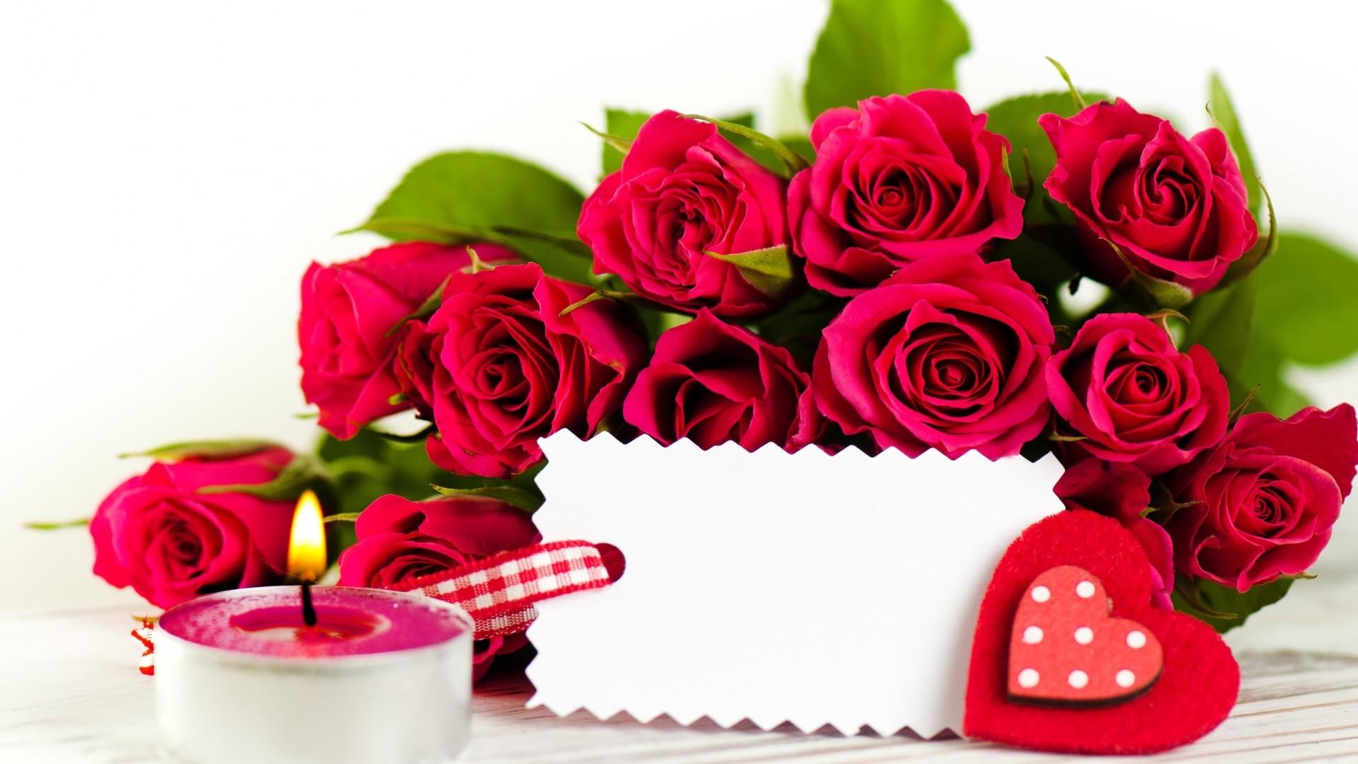 Цветы розы открытки