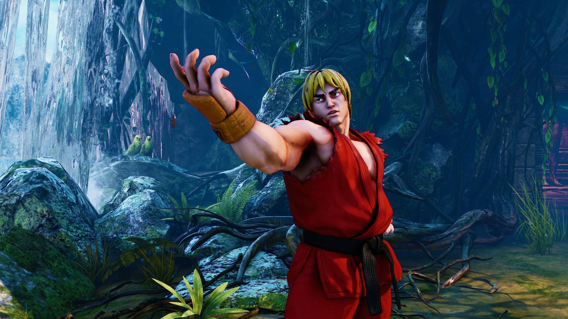 Street Fighter 5, Кен, Лучшие игры, фентези, ПК, PS4, Street Fighter 5, KEN, Best Games, fantasy, PC, PS4
