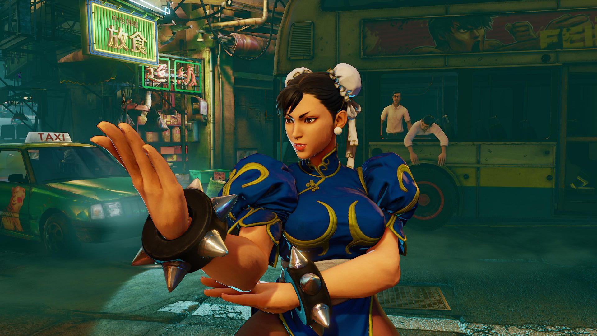 Street Fighter 5, Чан-Ли, Лучшие игры, фентези, ПК, PS4, Street Fighter 5, CHUN-LI, Best Games, fantasy, PC, PS4 (horizontal)