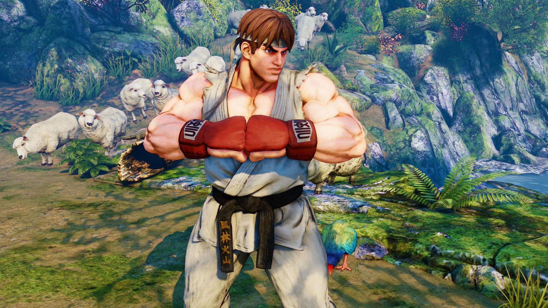 Street Fighter 5, Рей, Лучшие игры, фентези, ПК, PS4, Street Fighter 5, RYU, Best Games, fantasy, PC, PS4