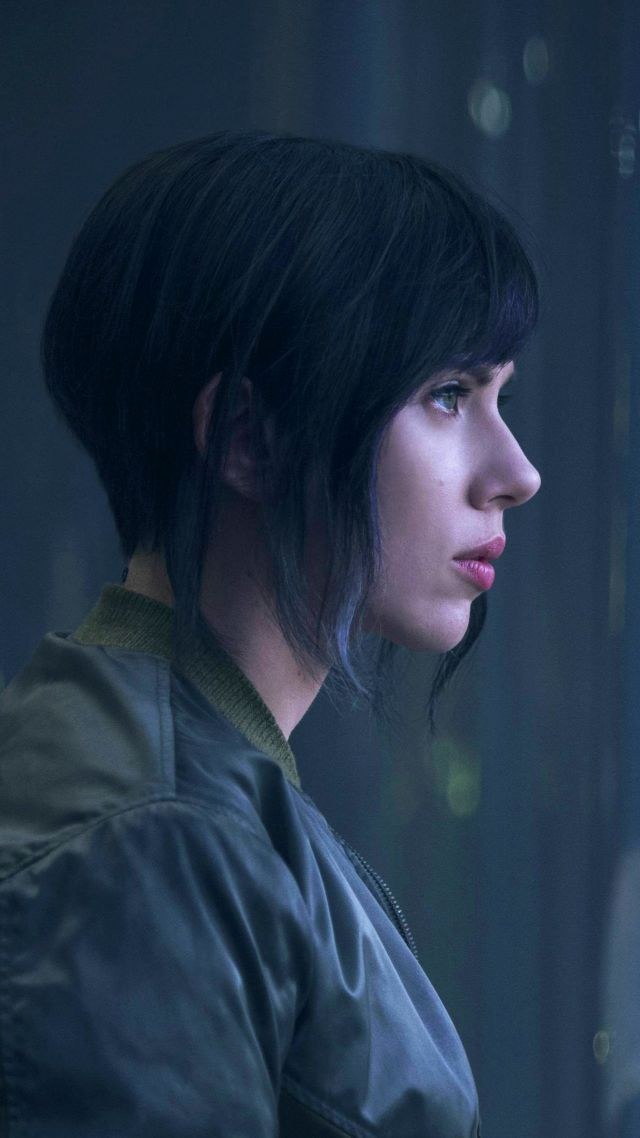 Призрак в доспехах, Скарлетт Йоханссон, фантастика, Ghost in the Shell, Scarlett Johansson