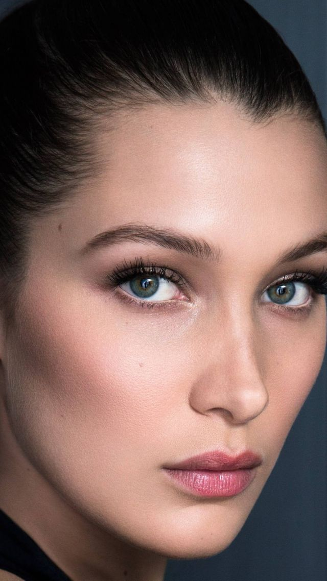 Белла Хадид, лицо, модель, Bella Hadid, face, Most popular celebs, actress, model (vertical)
