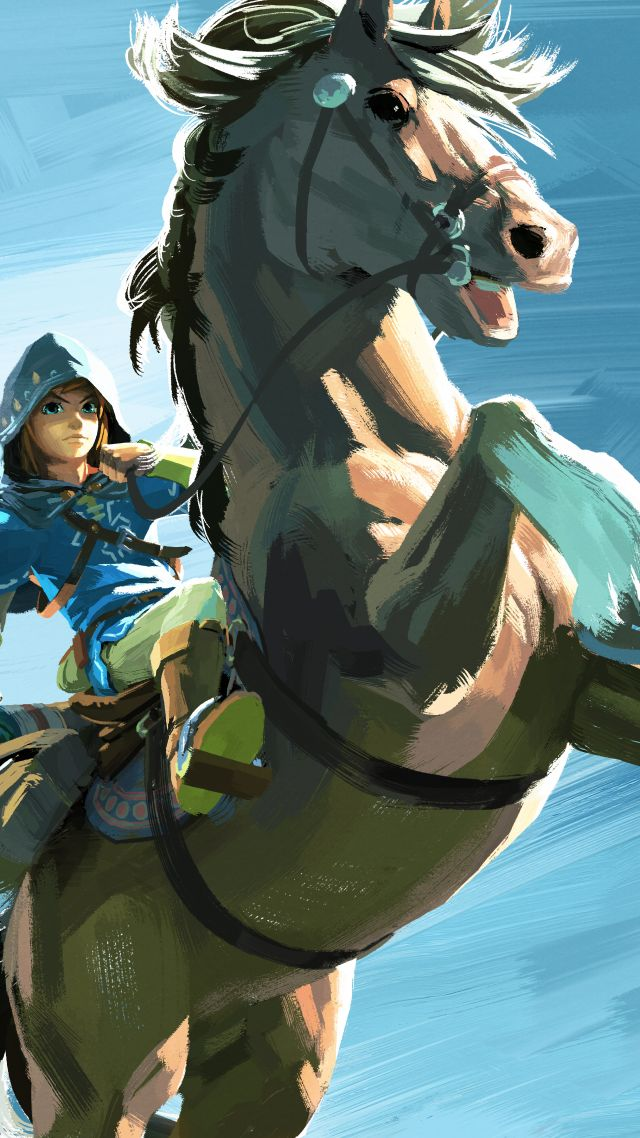 легенда зельды, The Legend of Zelda: Breath of the Wild, конь, лучшие игры, The Legend of Zelda: Breath of the Wild, best games, horse, Wii U, NX (vertical)