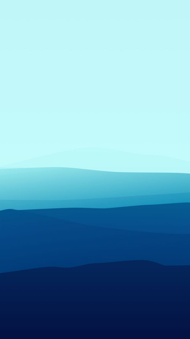 лес, туман, iPhone обои, голубой, landscape, flat, fog, iphone wallpaper, forest, blue