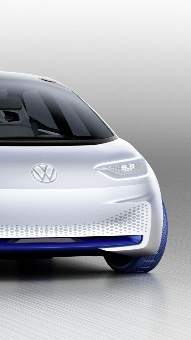 Фольцваген ИД, Volkswagen I.D., париж авто шоу 2016, электромобиль, Volkswagen I.D., paris auto show 2016, electric cars, white (vertical)