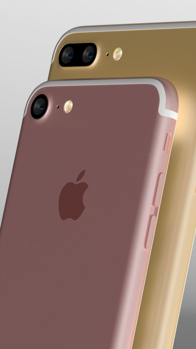 Iphone 7 обои капля 6
