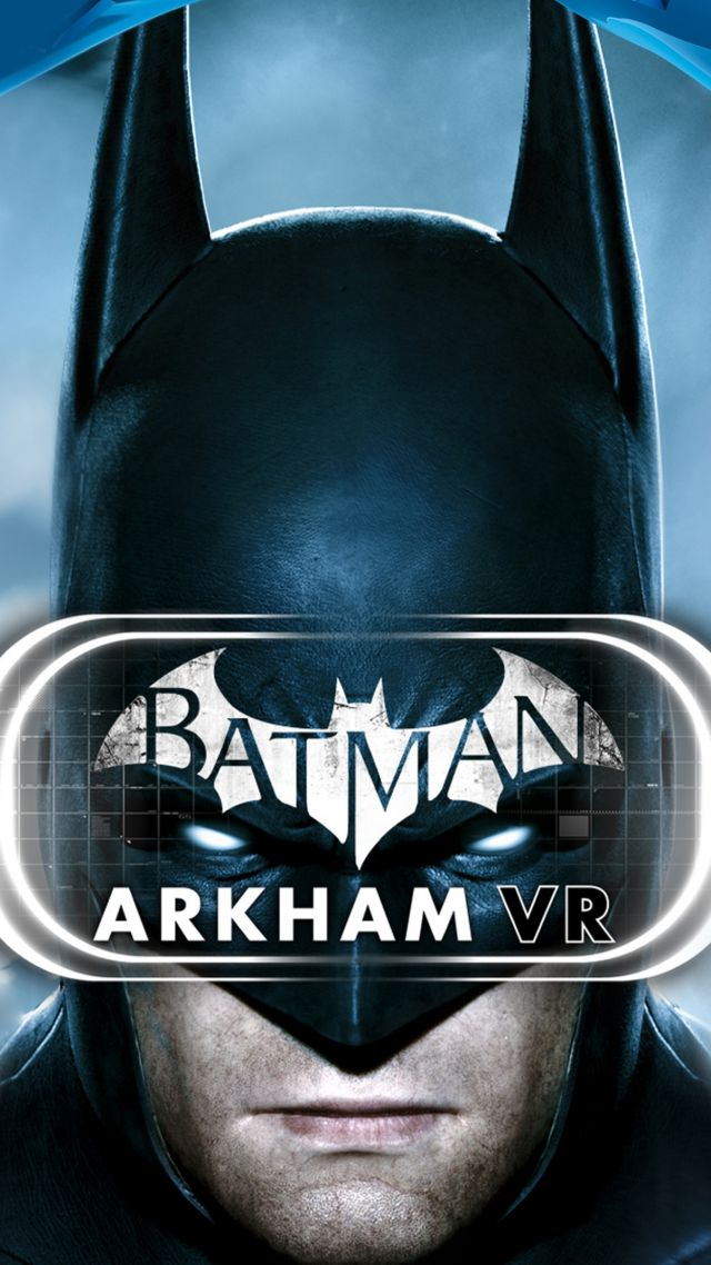 Batman: Arkham VR, бэтмен, ВР, ПС ВР, пс4, Batman: Arkham VR, PS VR, PS4 (vertical)