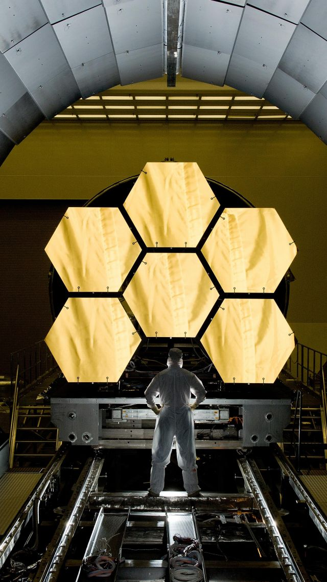 Джеймс Вебб, телескоп, космос, НАСА, James Webb Space Telescope, space, NASA (vertical)