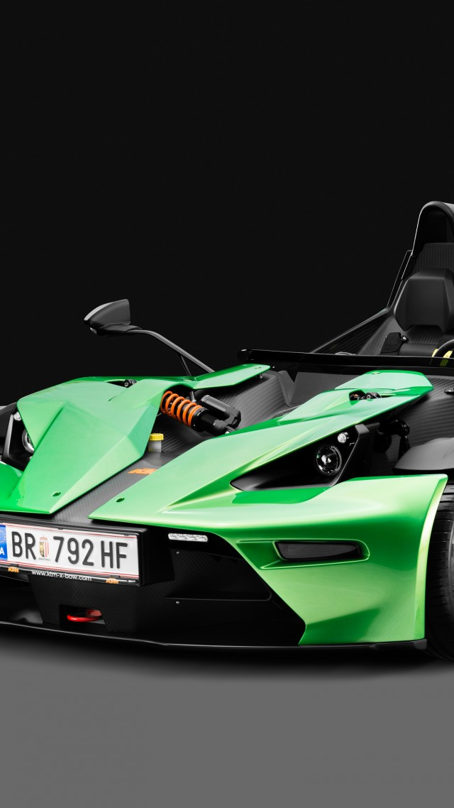 KTM X-Bow, суперкар, KTM X-Bow, supercar (vertical)