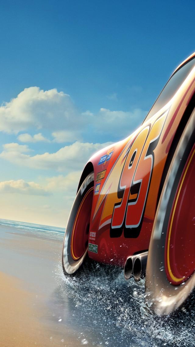 обои тачки 3 Cars 3 4k Lightning Mcqueen 5k 8k Poster