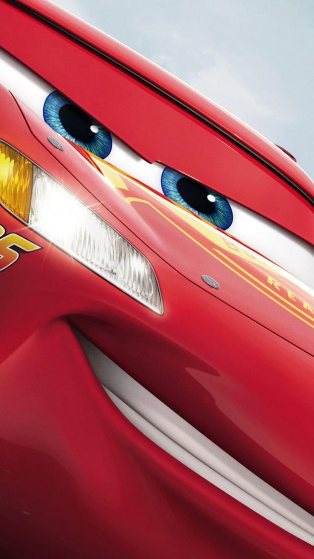 обои тачки 3 Cars 3 5k Lightning Mcqueen Poster фильмы