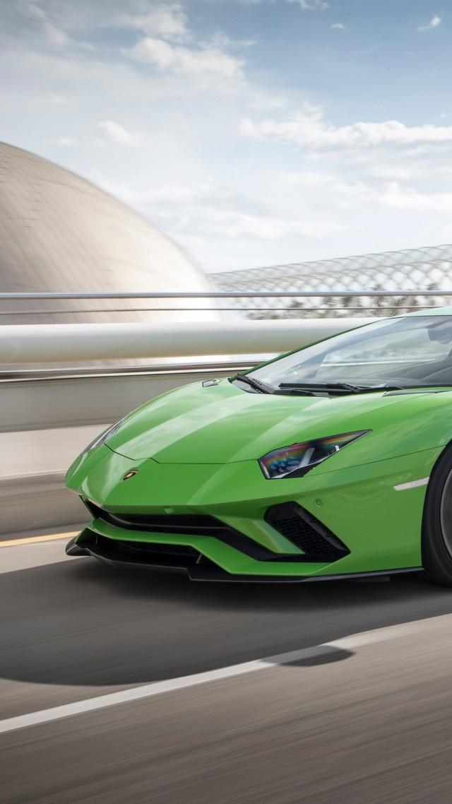 обои ламборджини Lamborghini Aventador S Cars 2017 4k