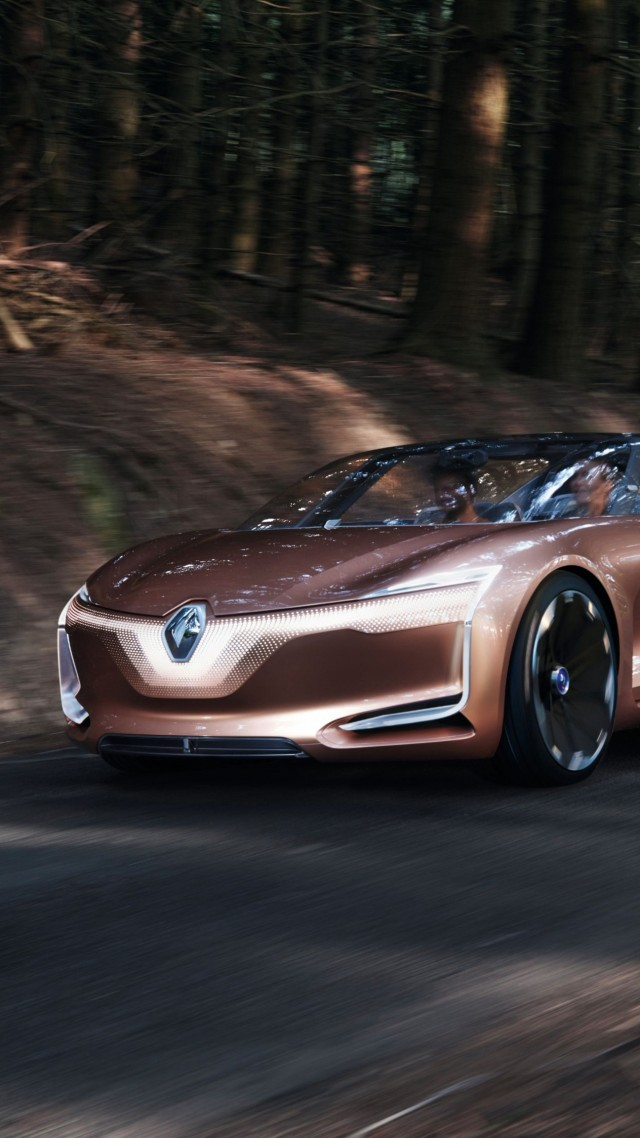 электроавтомобиль, Renault Symbioz, electric car, 4k (vertical)