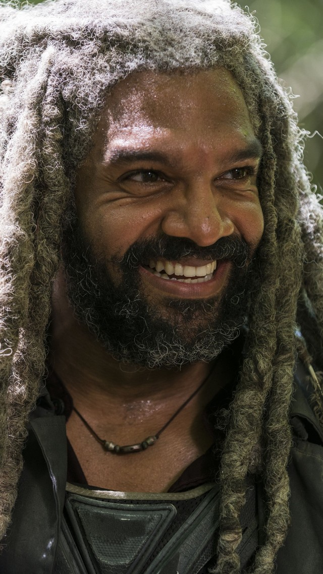 Ходячие мертвецы, The Walking Dead Season 8, Khary Payton, TV Series, 4k (vertical)