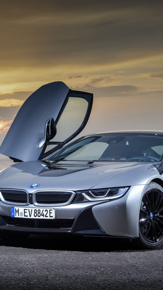 БМВ, BMW i8 Roadster, 2018 Cars, 5k (vertical)