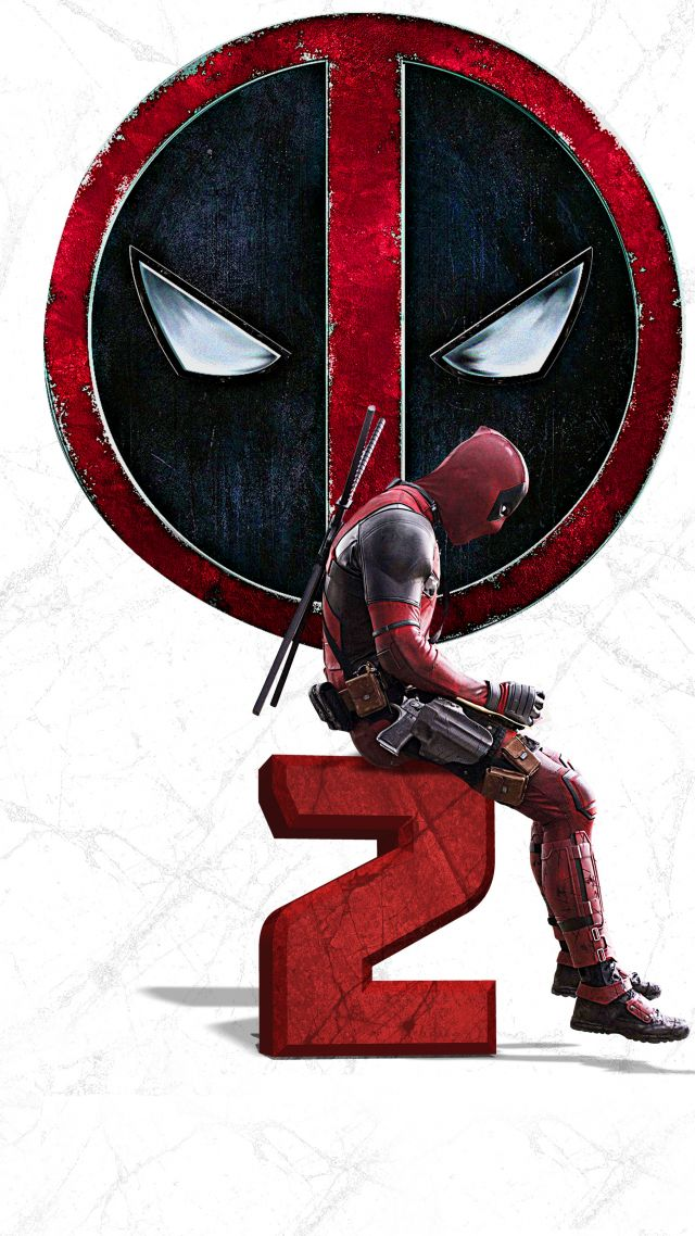 Дэдпул 2, Deadpool 2, 4k (vertical)