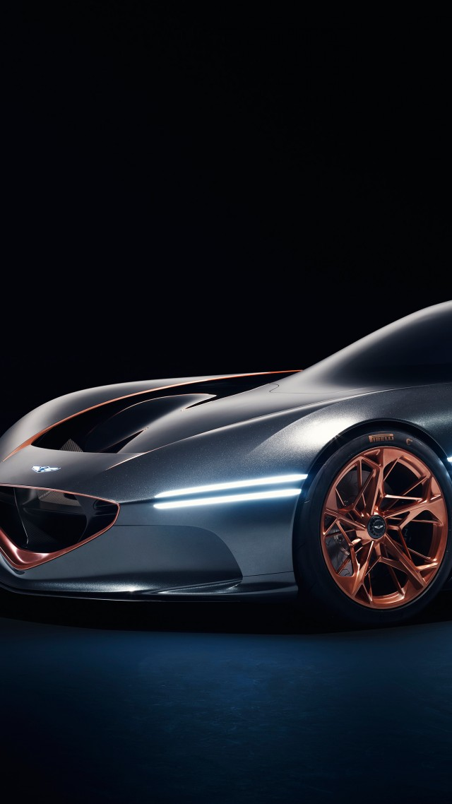 Концепт, Genesis Essentia, sport car, electric cars, Concept, 4k (vertical)