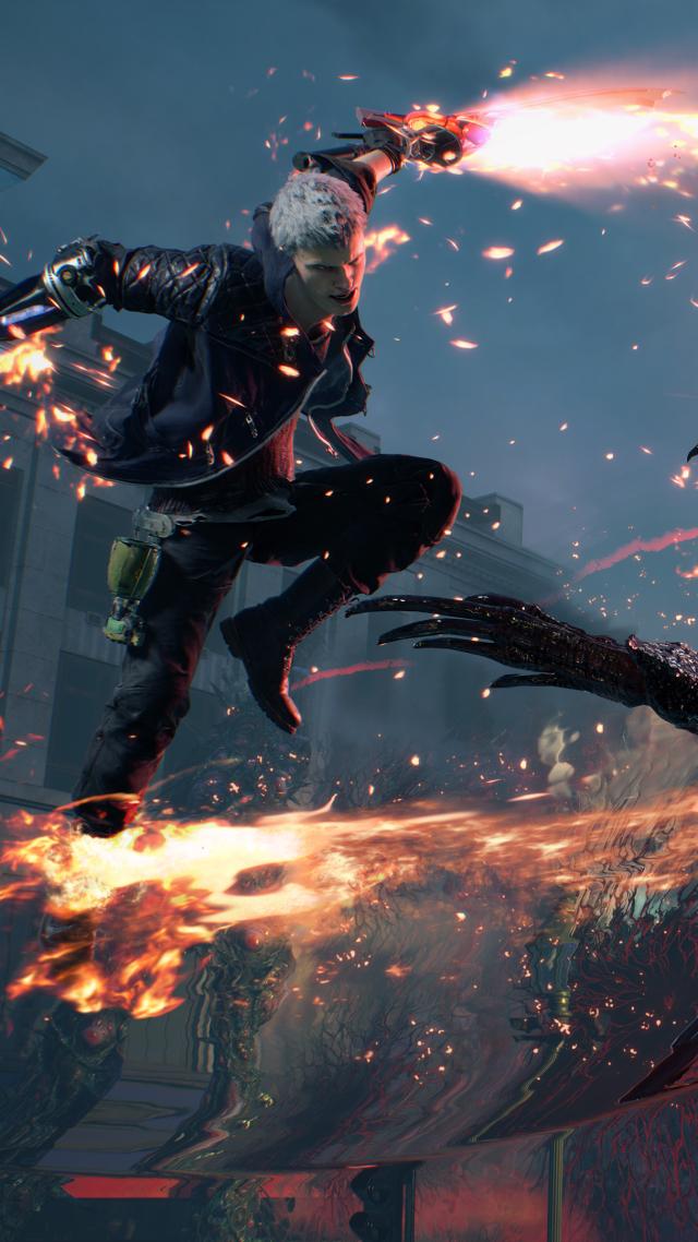 обои скриншот Devil May Cry 5 E3 2018 Screenshot 4k
