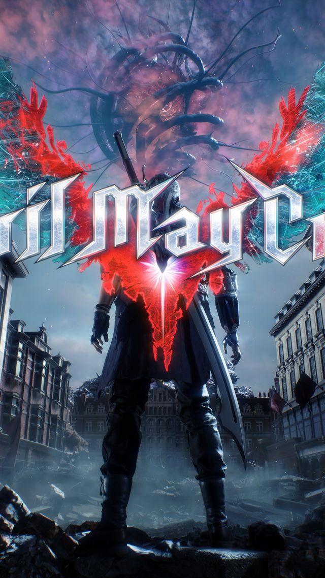 обои Devil May Cry 5 E3 2018 Poster 4k Devil May Cry 5