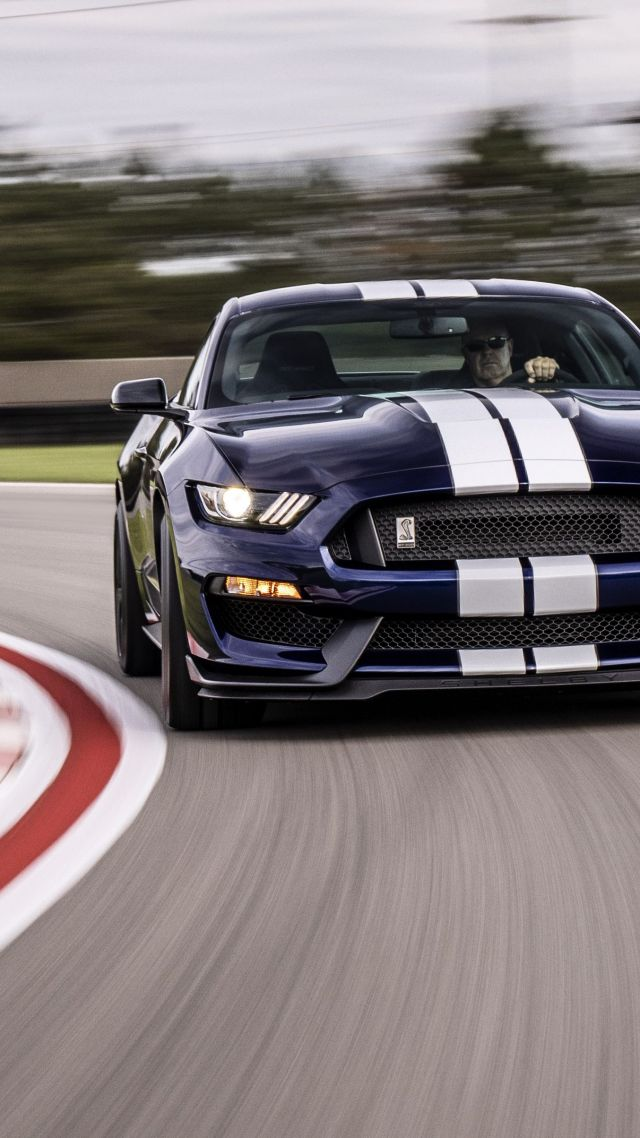 Мустанг Шелби GT350, Ford Mustang Shelby GT350, 2019 Cars, 4K (vertical)