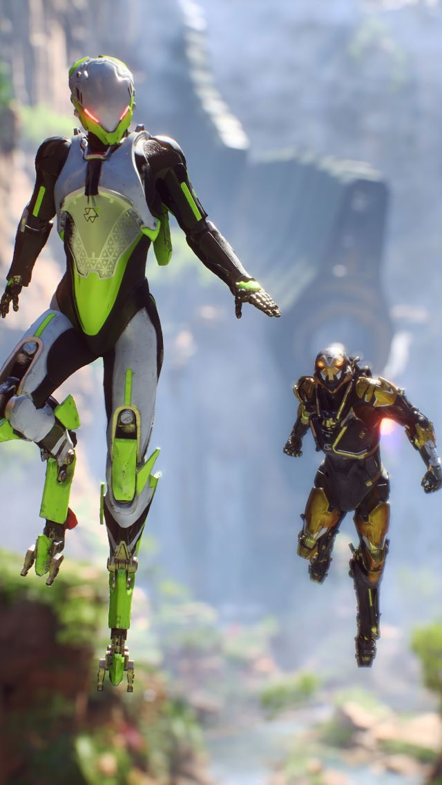 Антем, Anthem, E3 2018, screenshot, 4K (vertical)