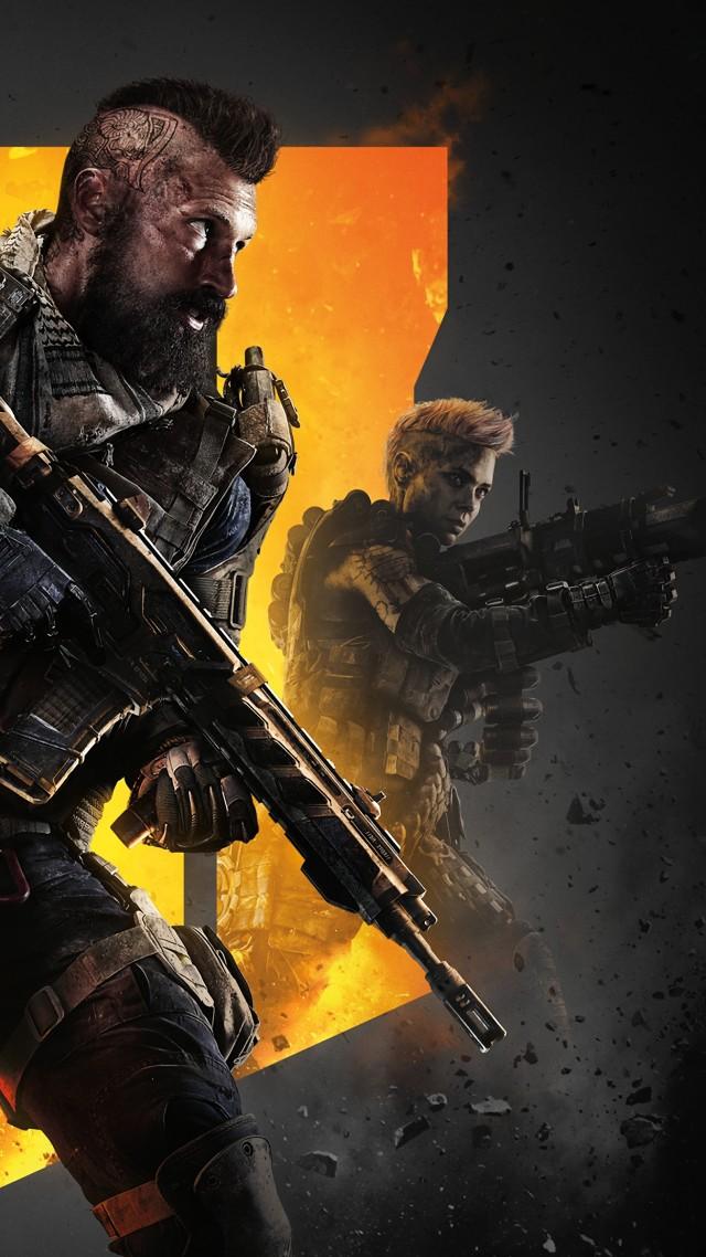 Обои Call of Duty Black Ops 4, poster, 4K, Игры #19384