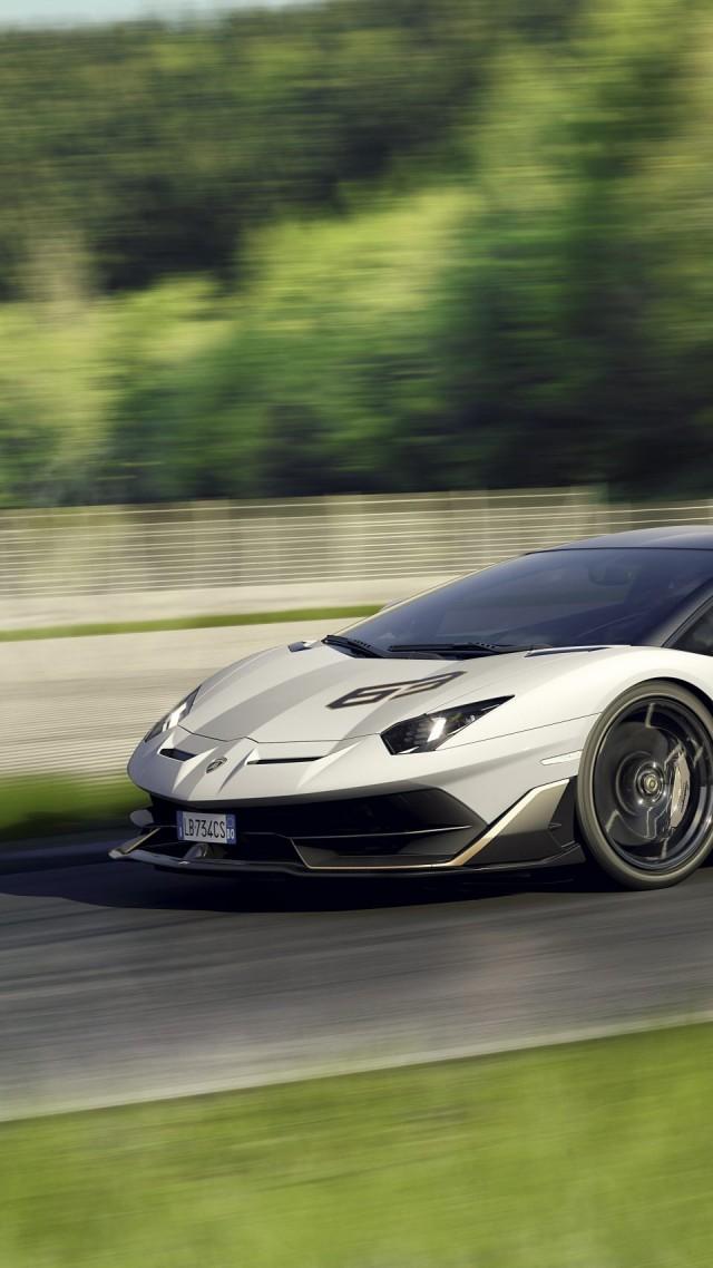 обои Lamborghini Aventador Svj 2019 Cars Supercar Hd