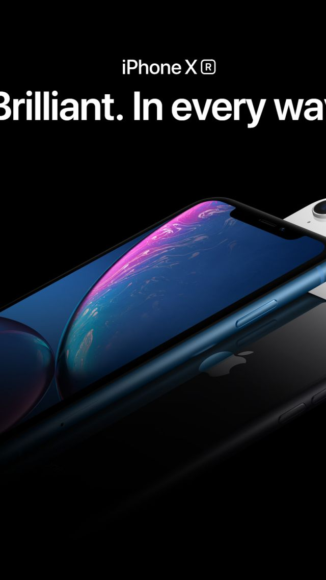Айфон XR, голубой, черный, белый, iPhone XR, blue, black, white, smartphone, Apple September 2018 Event (vertical)