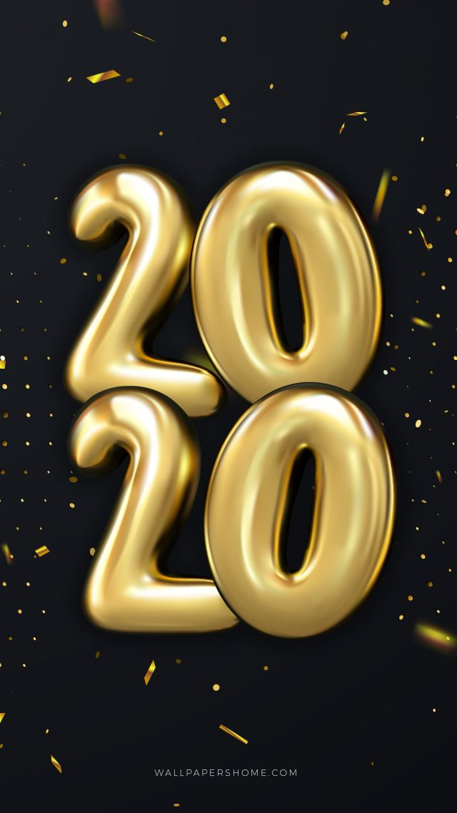 Новый Год 2020, Рождество, New Year 2020, Christmas, poster, 8k (vertical)