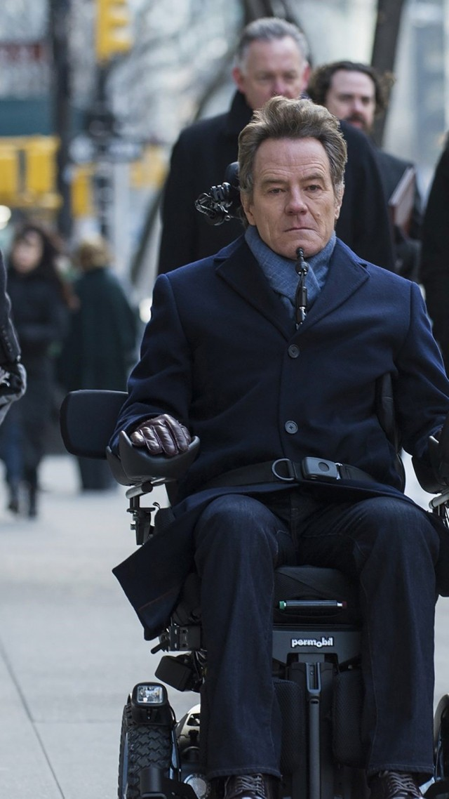 1+1: Голливудская история, The Upside, Kevin Hart, Bryan Cranston, HD (vertical)