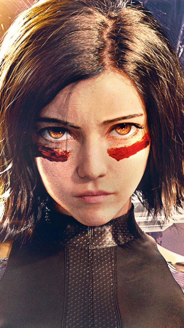 Боевой Ангел, Alita: Battle Angel, Rosa Salazar, HD (vertical)