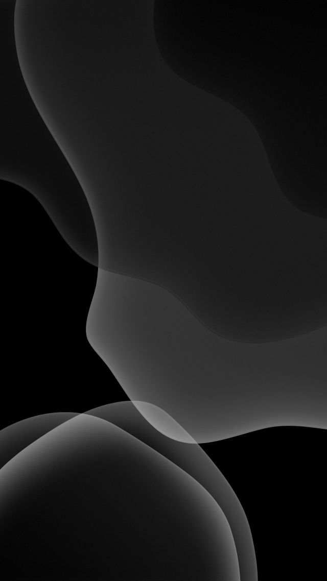 iOS 13, iPadOS, abstract, dark, WWDC 2019, 4K (vertical)