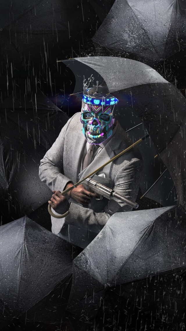 Watch Dogs: Legion, E3 2019, poster, 5K (vertical)