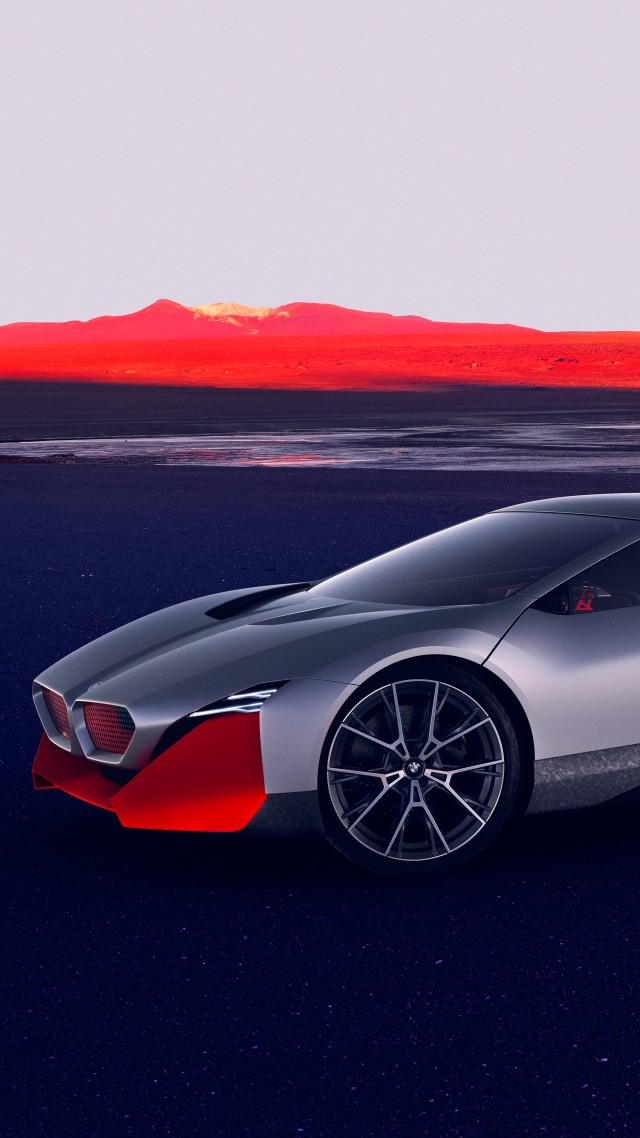 BMW Vision M NEXT, electric cars, 2019 cars, 4K, BMW Vision M NEXT, electric cars, 2019 cars, 4K (vertical)