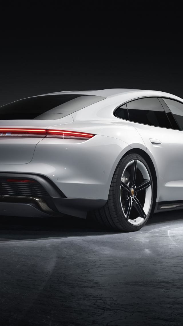 Porsche Taycan Turbo S, electric cars, 2019 cars, 5K, Porsche Taycan Turbo S, electric cars, 2019 cars, 5K (vertical)