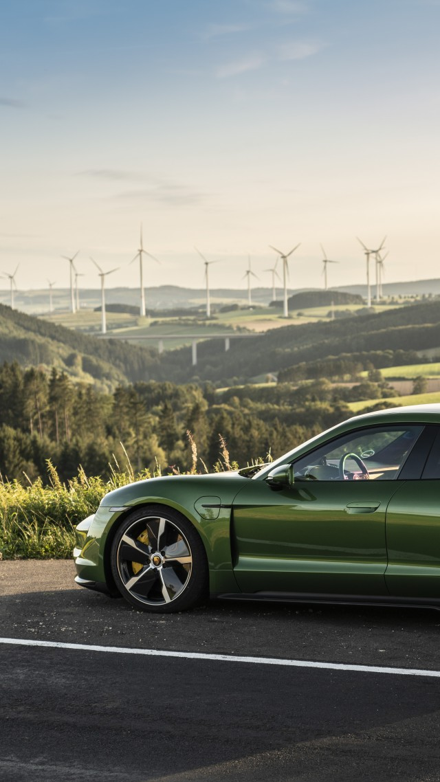 Porsche Taycan Turbo, electric cars, 2019 cars, 8K, Porsche Taycan Turbo, electric cars, 2019 cars, 8K (vertical)