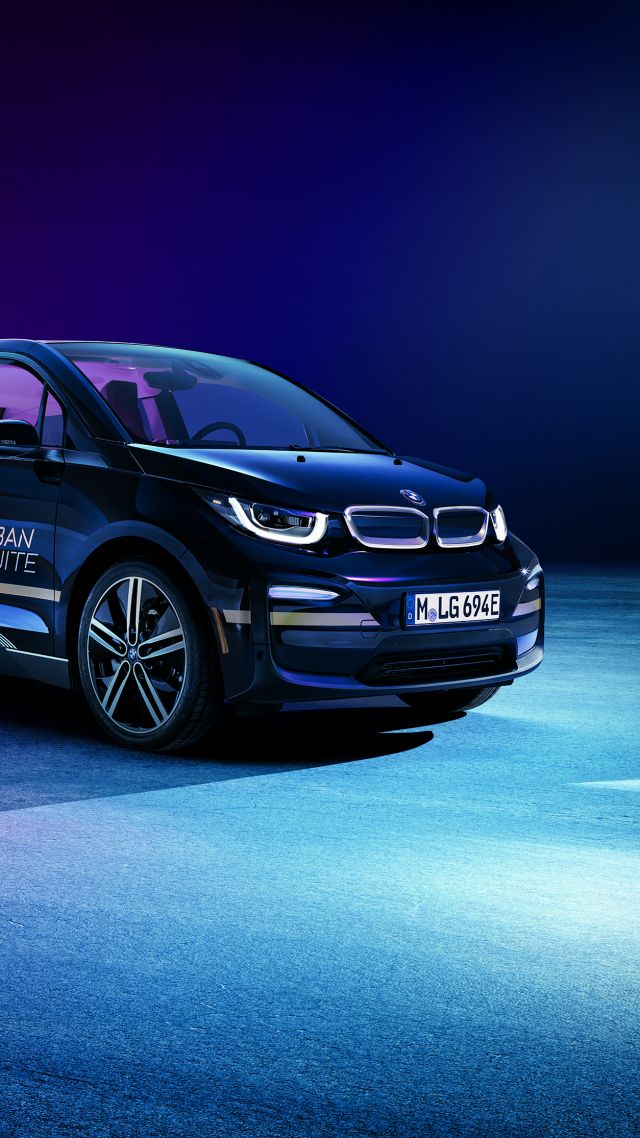 BMW i3 Urban Suite, CES 2020, electric car, 2020 cars, 4K, BMW i3 Urban Suite, CES 2020, electric car, 2020 cars, 4K (vertical)