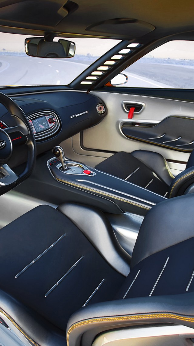 kia gt4 stinger concept supercar luxury cars. Black Bedroom Furniture Sets. Home Design Ideas