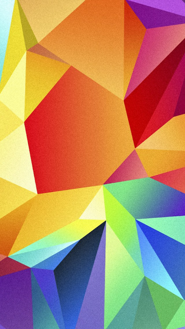 полигон, 4k, HD, цветной, андроид, фон, polygon, 4k, HD wallpaper, android, triangle, background, orange, red, blue, pattern (vertical)