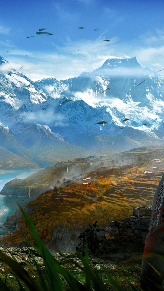 Самая высокая гора мира Эверест Джомолунгма высота