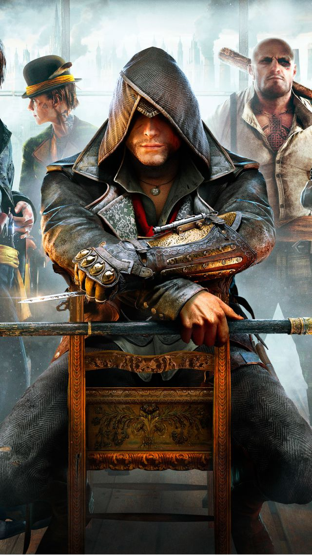 Assassin's Creed Синдикат, Лучшие игры 2015, игра, ПК, PS4, Xbox one, Assassin's Creed: Syndicate, Best Games 2015, game, open world, PC, PS4, Xbox one (vertical)