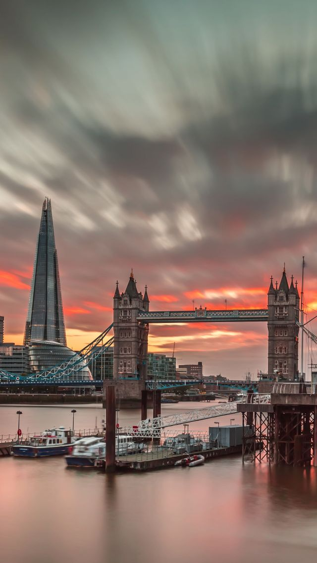 Лоднон, Англия, путешествие, туризм, закат, London, England, travel, tourism, sunset (vertical)
