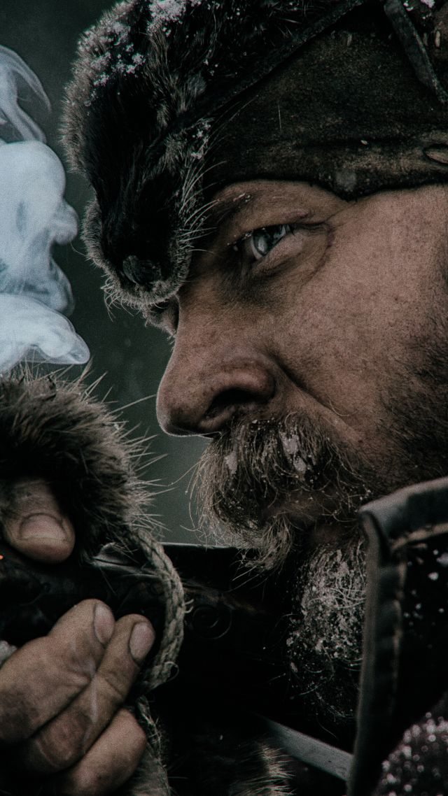 Выживший, Леонардо Ди Каприо, The Revenant, Leonardo DiCaprio (vertical)