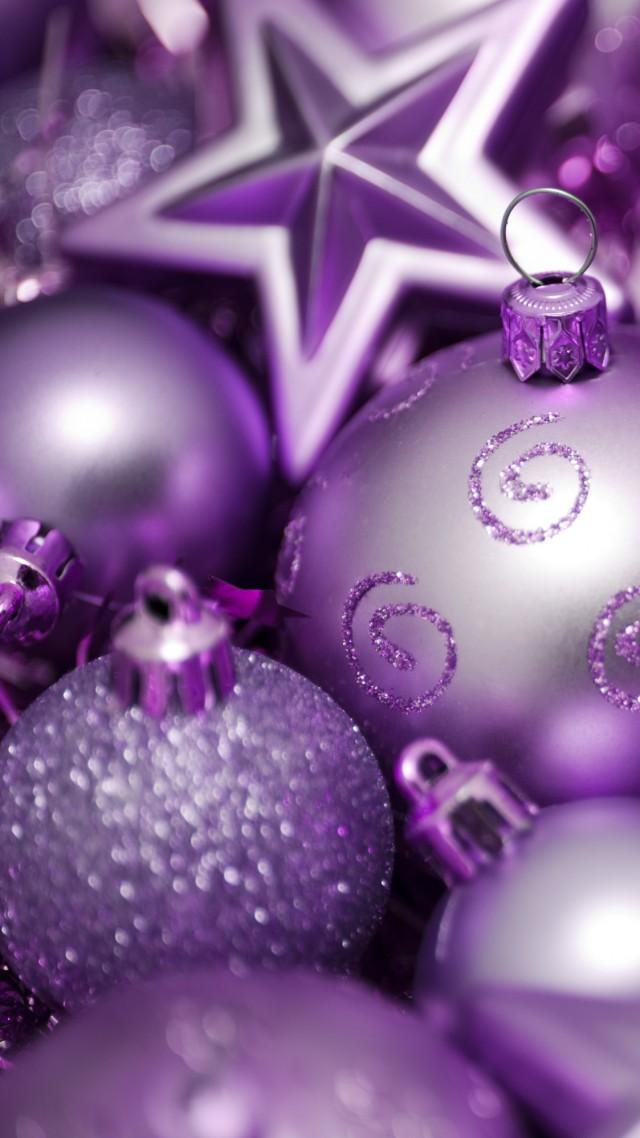 Новогодние Шарики Обои