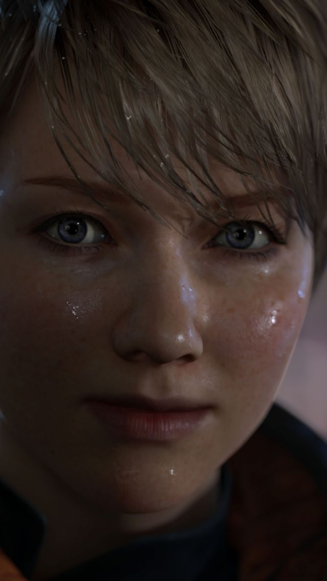Detroit: Become Human, Лучшие игры, фантастика, квест, игра, PS4, Detroit: Become Human, Best Games, quest, sci-fi, game, PS4, screenshot (vertical)