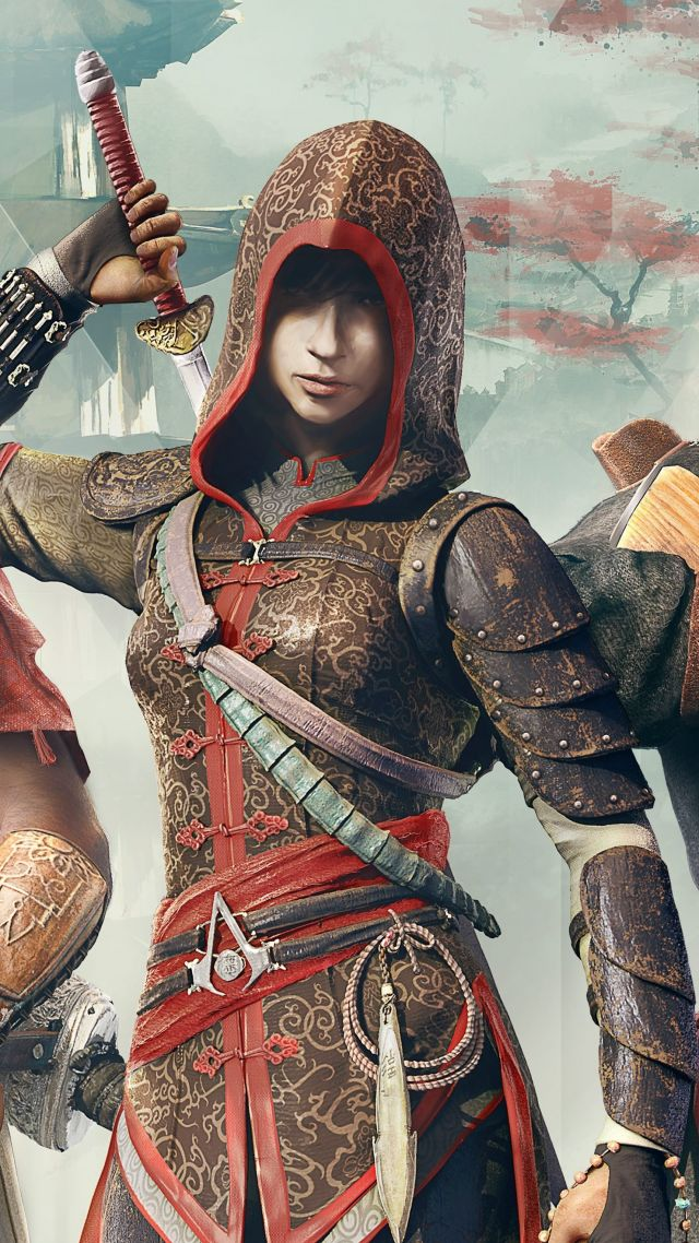 Assassin's Creed Chronicles Trilogy, Лучшие игры, игра, аркада, фантастика, Китай, ПК, PC, PS4, Xbox One, Assassin's Creed Chronicles Trilogy, Best Games, game, arcade, sci-fi, China, PC, PS4, Xbox One (vertical)