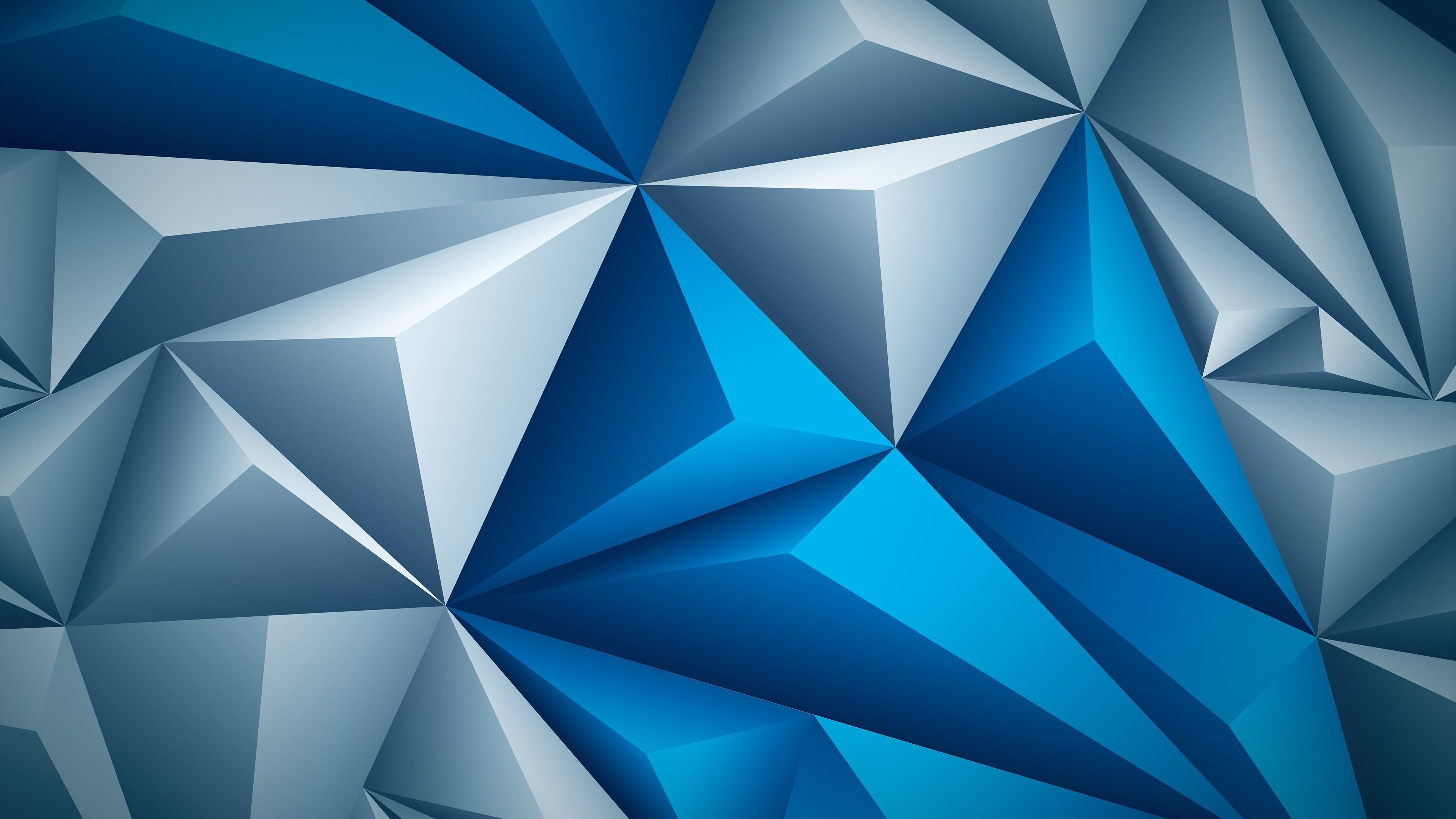 Обои Цвет, абстракция, треугольник. Абстракции foto 12