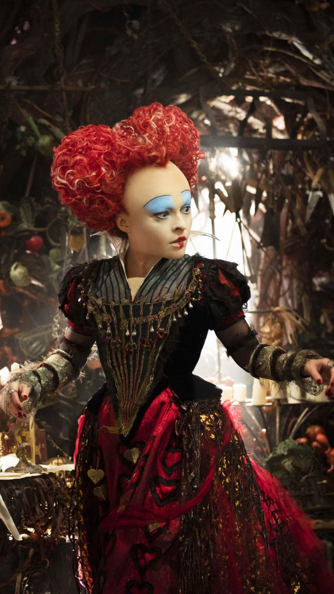 Обои Алиса в Зазеркалье, Хелена Бонэм Картер, лучшие