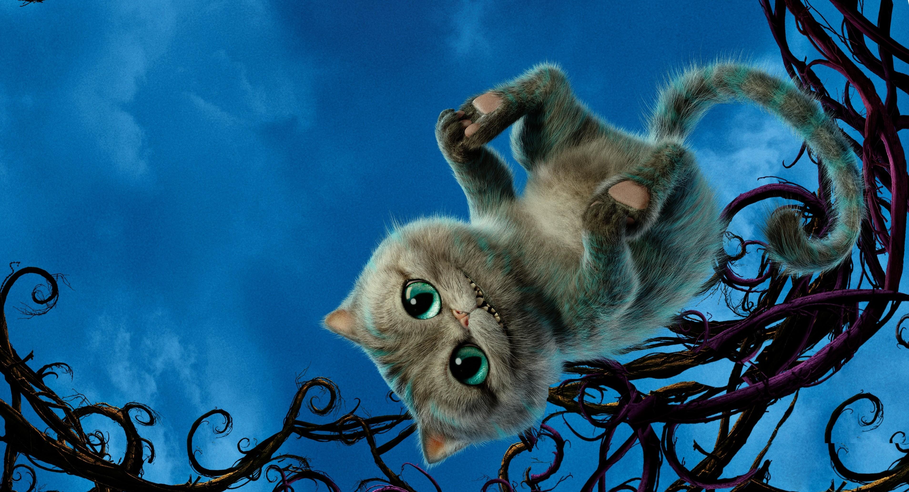 Обои Алиса в Зазеркалье, чеширский кот, шляпник, лучшие ... джонни депп цитаты