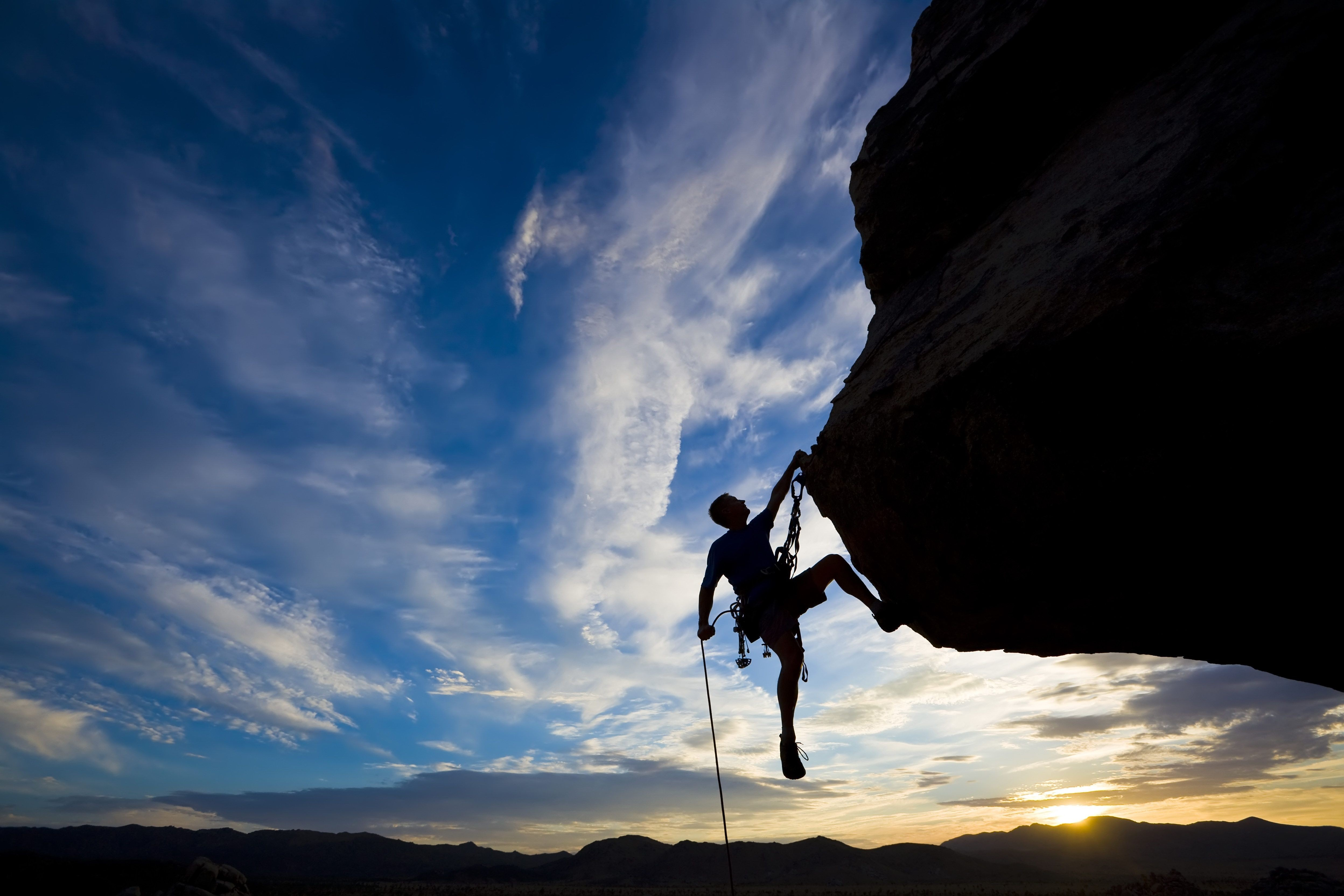 Extreme mountain climbing pictures